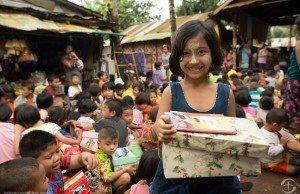 Thong Pha Phum Burmese Refugee Village distribution
