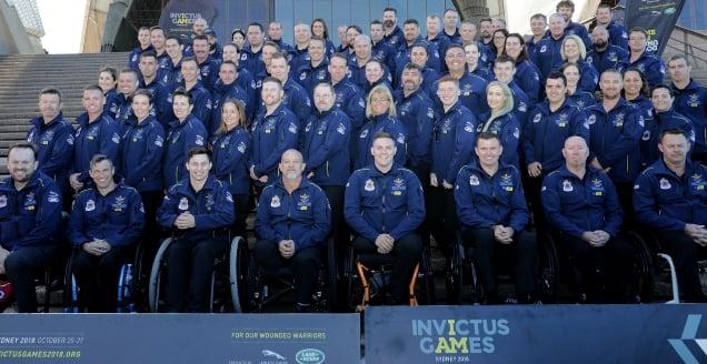 Australian Invictus Games Team 2018